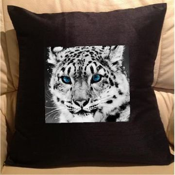 White tiger, sofa cushions